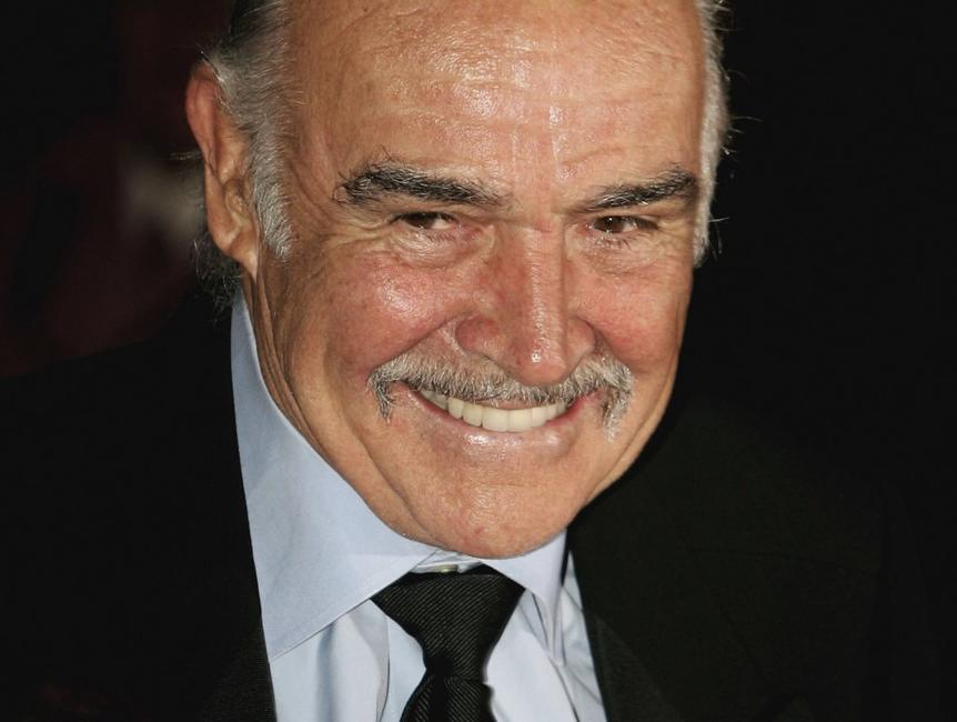 Sean Connery at the Teatro DellOpera concert on the opening night of the Rome Film festival.