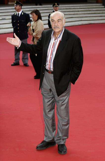 Sean Connery at the premiere of