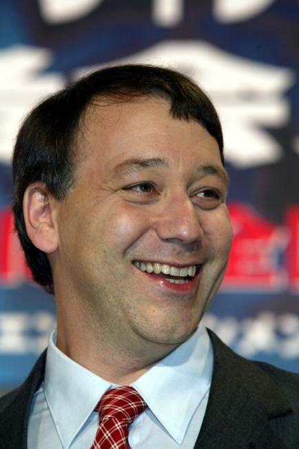 Sam Raimi at the Tokyo press conference of