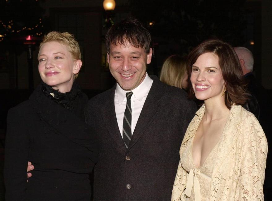Sam Raimi, Cate Blanchett and Hilary Swank at the Hollywood premiere of