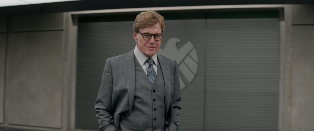 Robert Redford as Alexander Pierce in