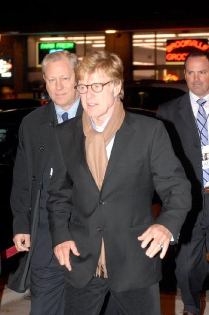 Robert Redford at the Washington, DC screening of