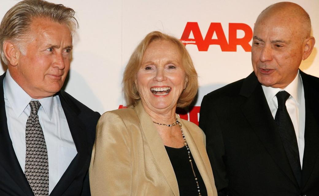 Martin Sheen, Eva Marie Saint and Alan Arkin at the Sixth Annual Movies For Grownups Awards at The Hotel Bel-Air.