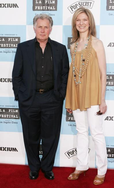 Martin Sheen and Dawn Hudson at the Los Angeles Film Festival opening night screening of the
