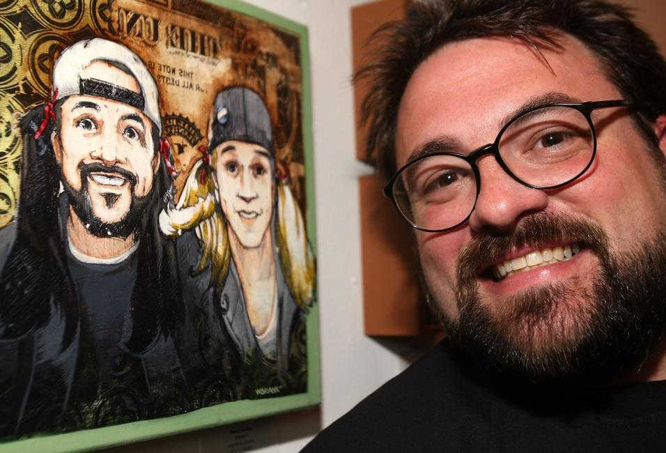 Kevin Smith at the opening night of