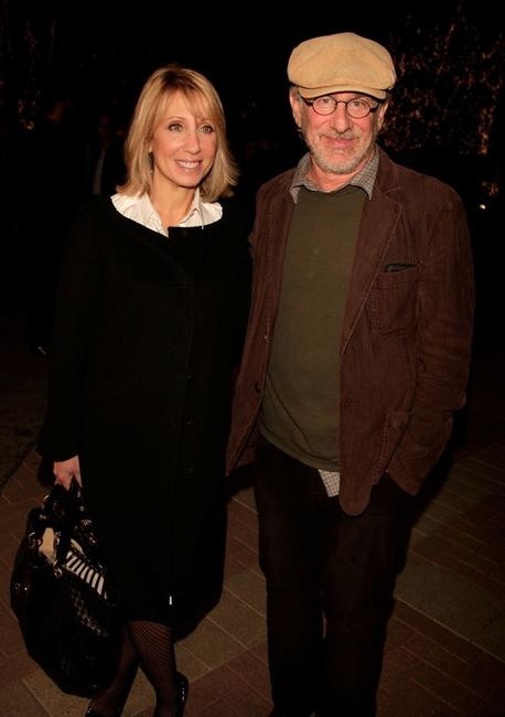 Steven Spielberg at the special screening for