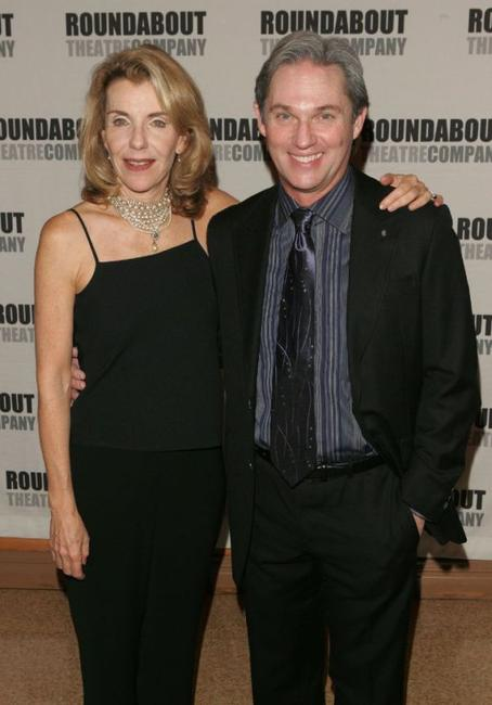 Jill Clayburgh and Richard Thomas at the after party of the opening night of