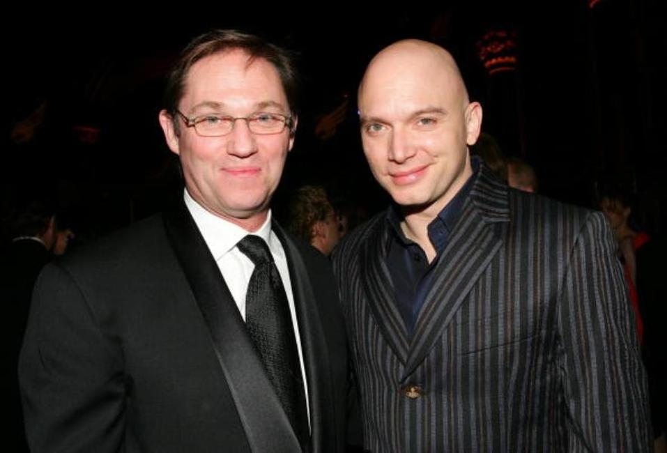 Richard Thomas and Michael Cerveris at the American Theatre Wing Annual Spring Gala.