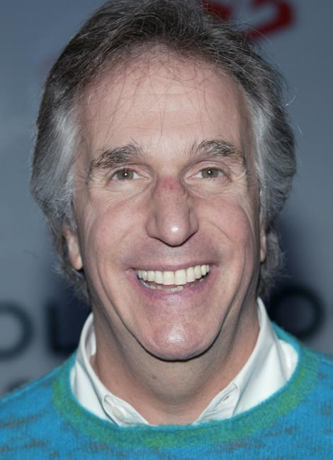 Henry Winkler at the Hollywood Squares game show taping.