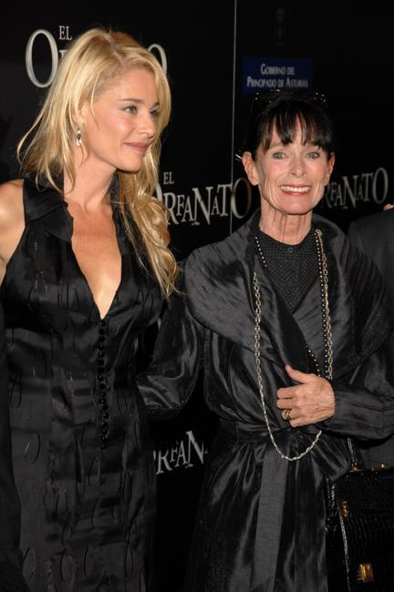 Geraldine Chaplin and Belen Rueda at the premiere of