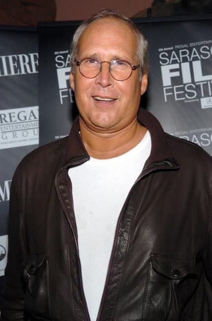 Chevy Chase at the Opening Night Gala of the Sarasota Film Festival at the John and Mable Ringling Museum of Art.