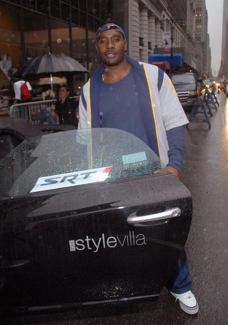 Morris Chestnut at the Chrysler Crossfire SRT8 at VMA Style Villa.
