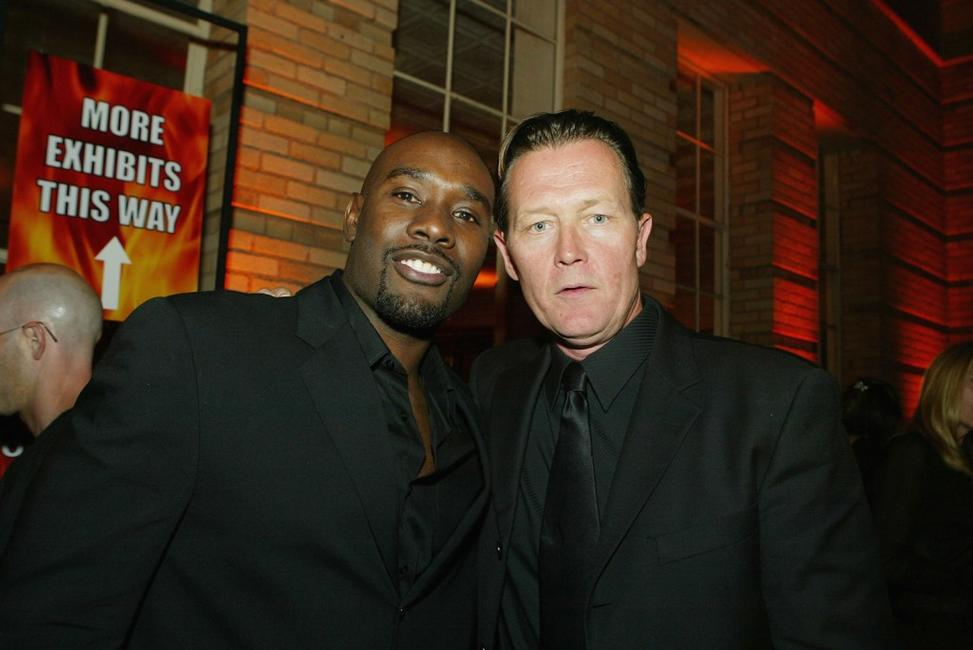 Morris Chestnut and Robert Patrick at the after party of the premiere of