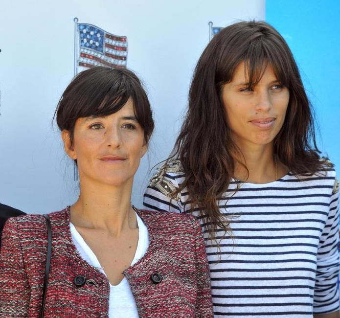 Romane Bohringer and Maiwenn at the 35th edition of the American Film Festival of Deauville.