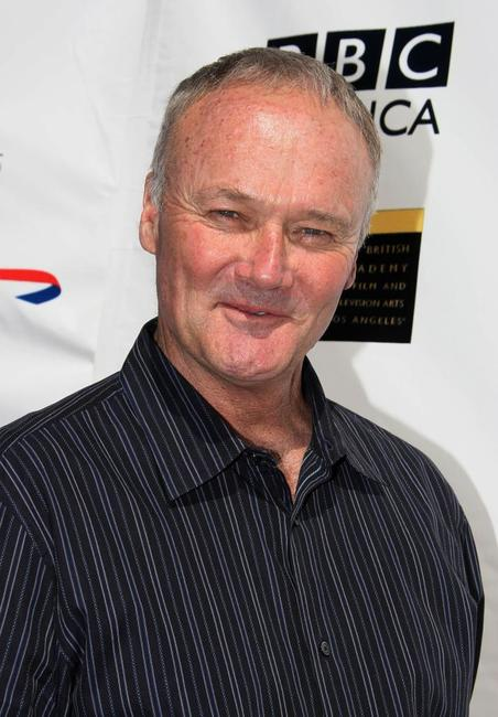 Creed Bratton at the pre-Emmy Awards tea party.