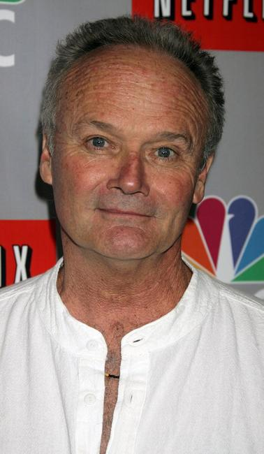Creed Bratton at the NBC All-Star Event.
