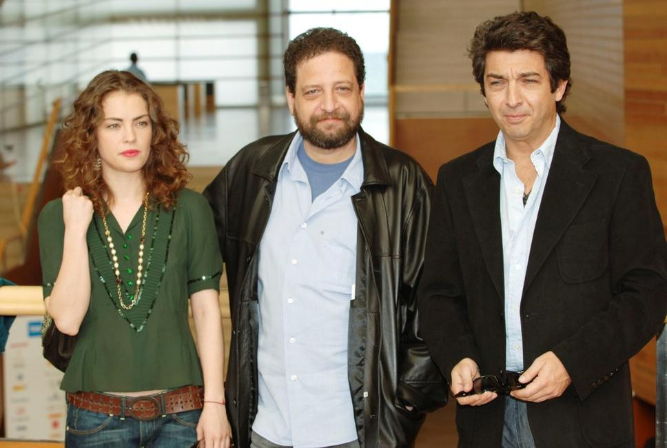 Dolores Fonzi, director Fabian Bielinsky and Ricardo Darin at the photocall of