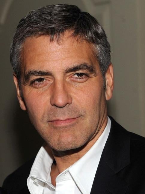 George Clooney at the special screening of