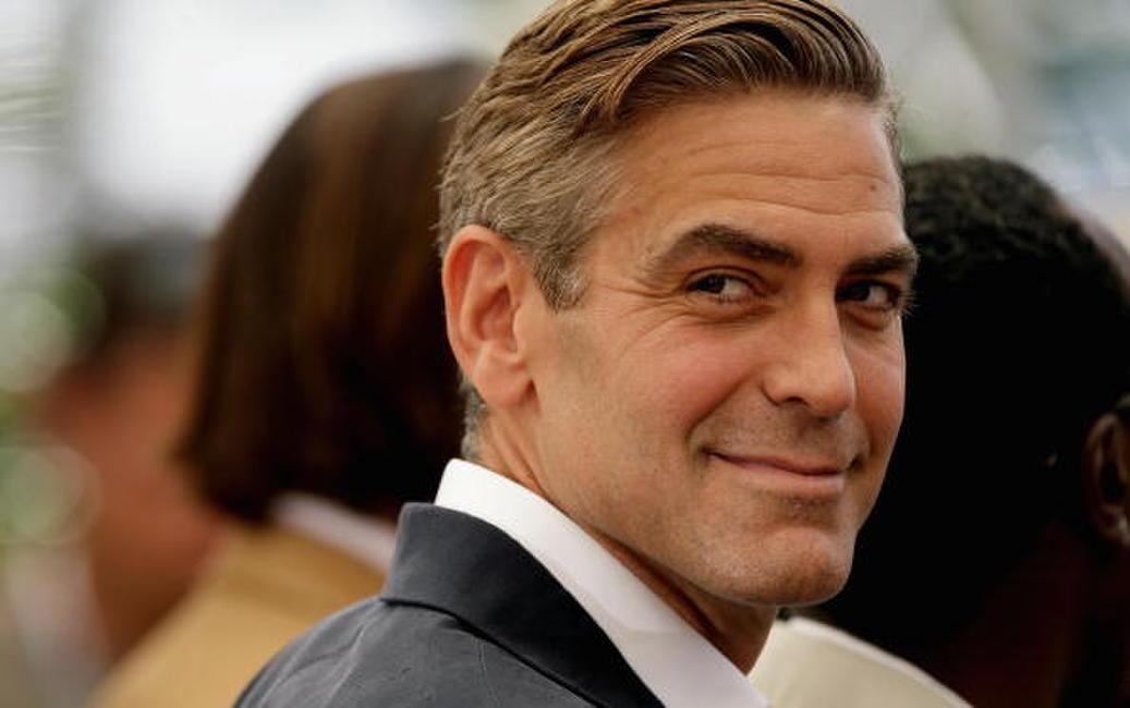 George Clooney at a Cannes photocall of