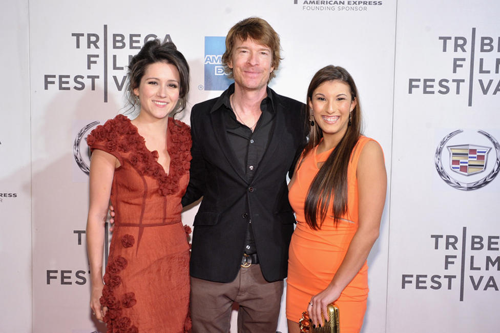 Shannon Woodward, Scott Coffey and Leah Lauren at the world premiere of