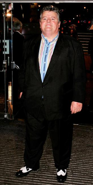 Robbie Coltrane at the world premiere of