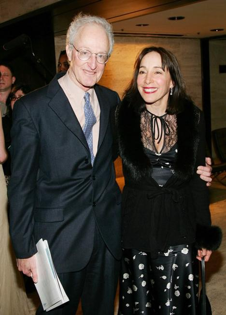 David Shire and Didi Conn at the Children and Art Honoring Stephen Sondheim's 75th Birthday post-show dinner.