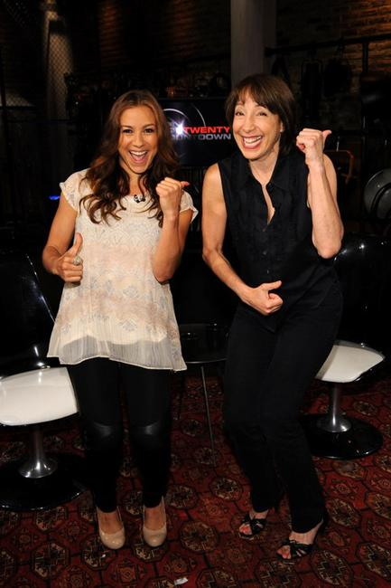 Allison Hagendorf and Didi Conn at the