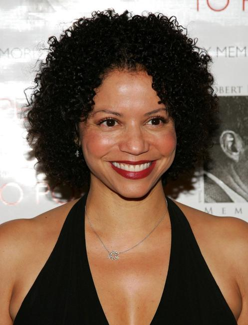 Gloria Reuben at the Speak Truth To Power Memorial Benefit Gala.