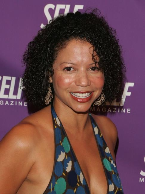 Gloria Reuben at the Self Magazine's Self Center opening night gala.