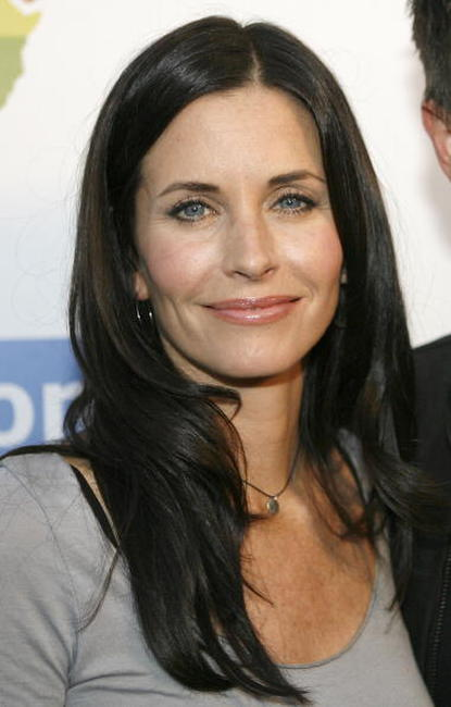 Courteney Cox at OmniPeace Event Kitson To Stop Extreme Poverty In Africa.