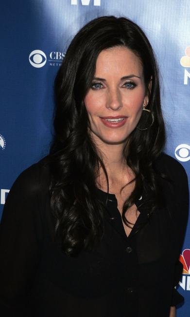 Courteney Cox Arquette at the NBC fall party for