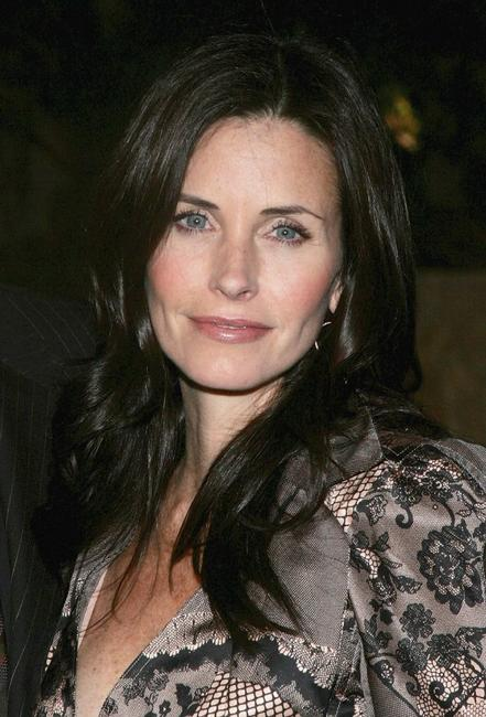 Courteney Cox Arquette at the EIF's Women's Cancer Research Fund Launch.
