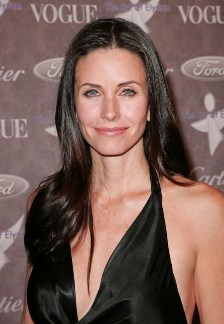 Courteney Cox Arquette at the event benefiting the Art Elysium
