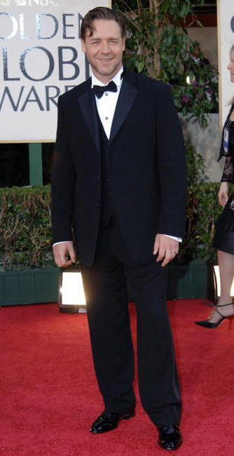 Russell Crowe at the 2006 Golden Globe Awards.