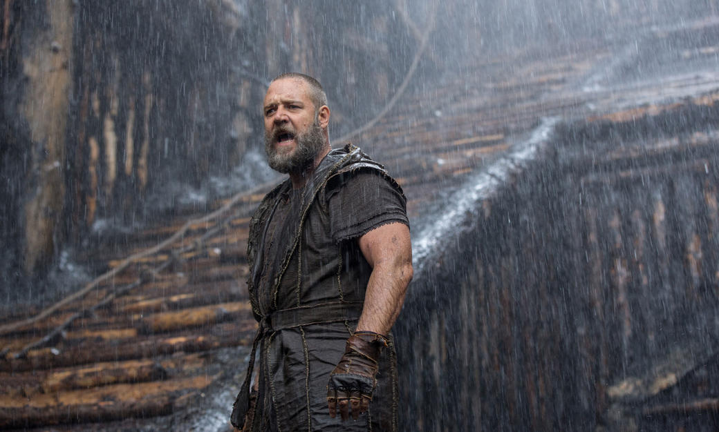 Russell Crowe as Noah in