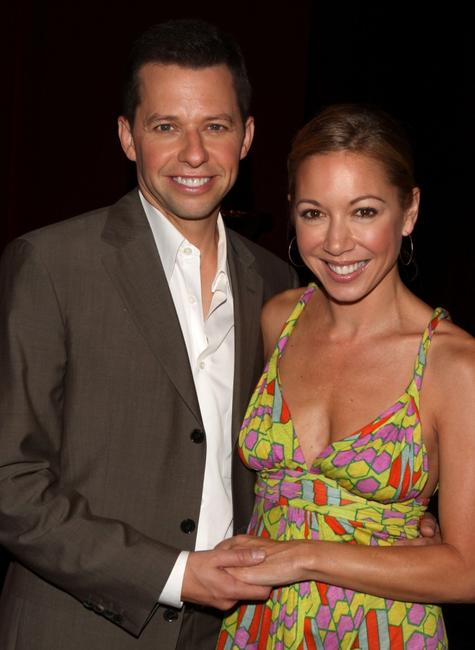 Jon Cryer and wife Lisa Joyner at the 59th Annual Primetime Emmy Awards.
