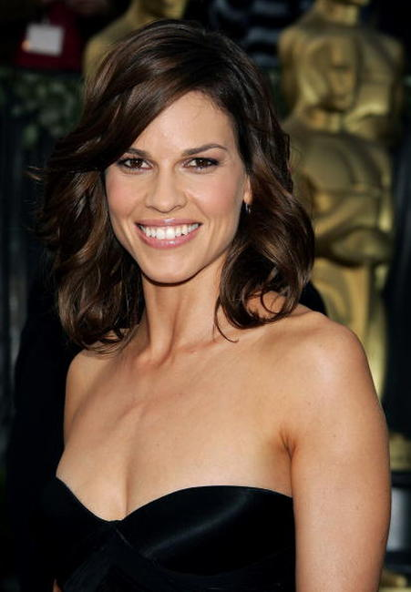 Hilary Swank at the 78th Annual Academy Awards in Hollywood, California.