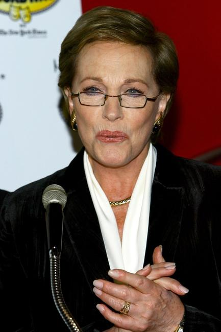 Julie Andrews at the for Kids' Night at Madame Tussauds.
