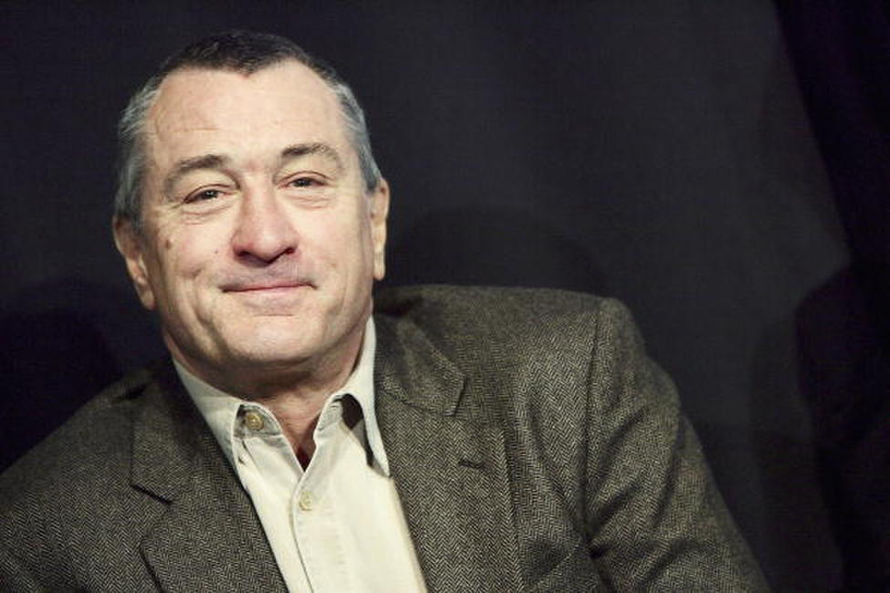 Robert De Niro at a N.Y. press conference to kick off the first annual Tribeca Theater Festival.