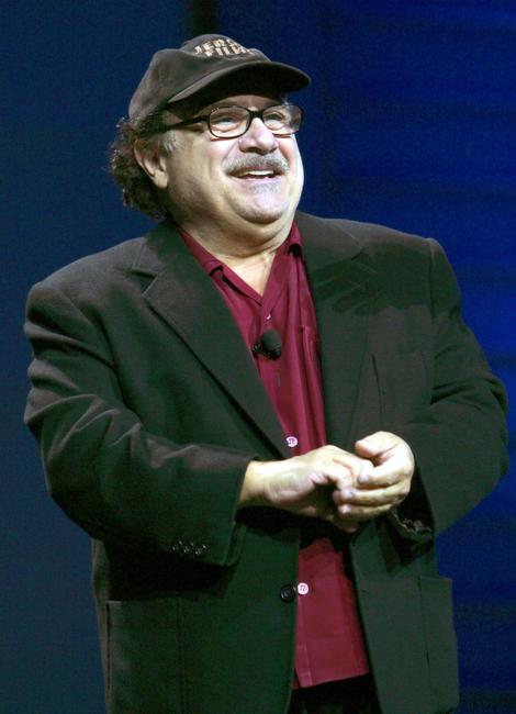Danny Devito at the opening day of the 2006 Consumer Electronics Show.