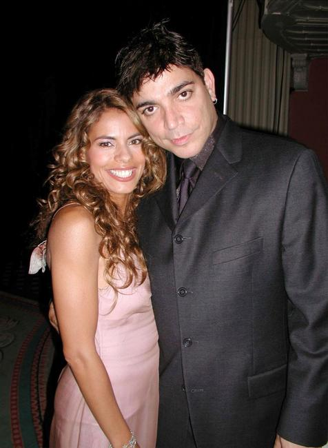 Lisa Vidal and Michael de Lorenzo at the National Hispanic Media Coalitions Fifth Annual Impact Awards Gala.