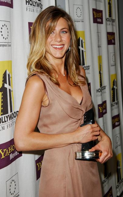 Jennifer Aniston at the Hollywood Film Festival's Gala Ceremony and Hollywood Movie Awards.