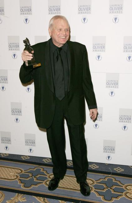 Brian Dennehy at the Laurence Olivier Awards at the London Hilton.