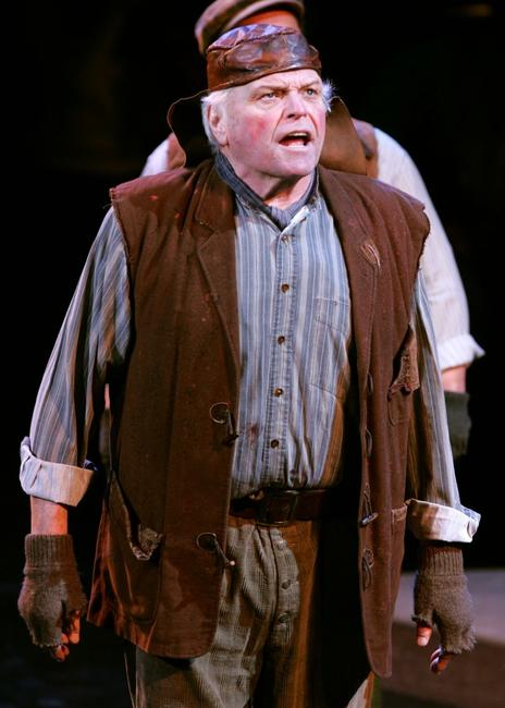 Brian Dennehy at the final dress rehearsal for My Fair Lady.