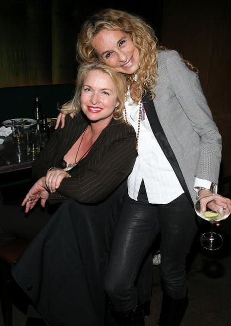 Donna Dixon and Ann Dexter-Jones at the after party of the premiere of