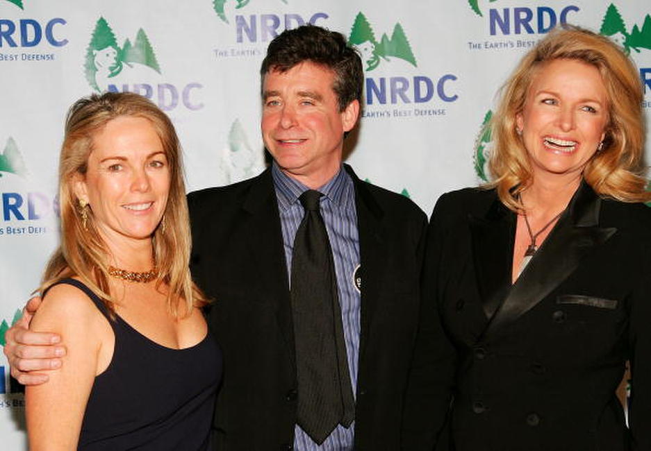 Anne Hearst, writer Jay McInerney and Donna Dixon at the Natural Resources Defense Council's 8th Annual Forces for Nature gala.