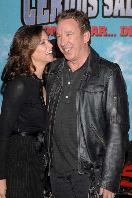 Tim Allen at the Madrid premiere of