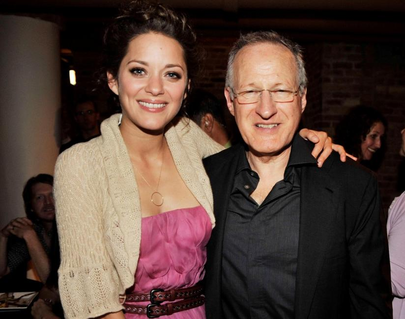 Marion Cotillard and Director Michael Mann at the after party of the Illinois premiere of