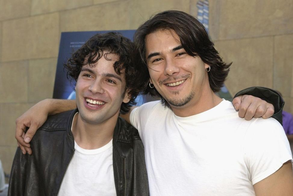 Stu Stone and James Duval at the Los Angeles premiere of
