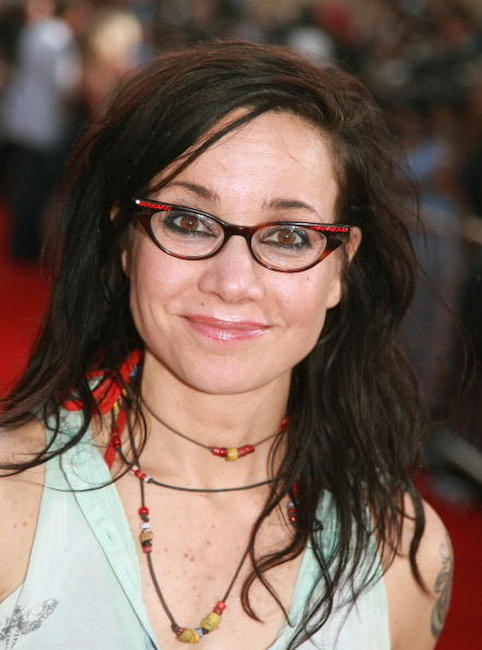Actress Janeane Garofalo at the L.A. premiere of